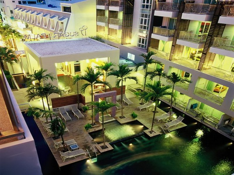 Отель Sugar Palm Resort Kata Beach 3*