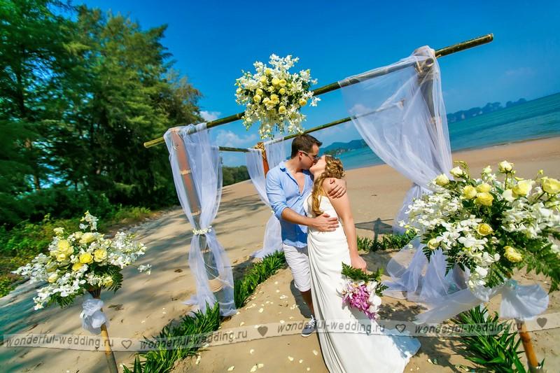 Свадебное путешествие краби као лак