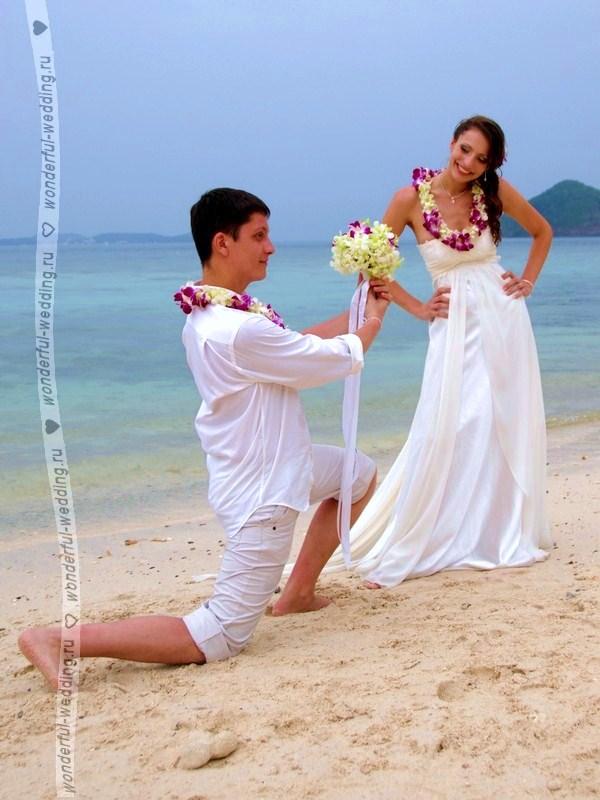 Свадьба в тайланде оригинальная идея
