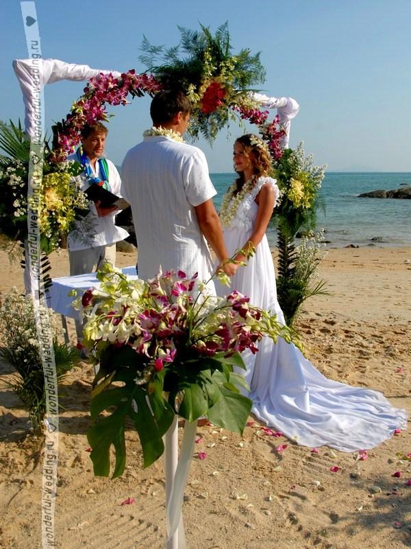 После свадьбы выезд за границу