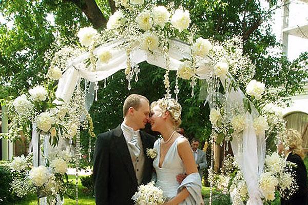 Цветочная свадьба фото 2